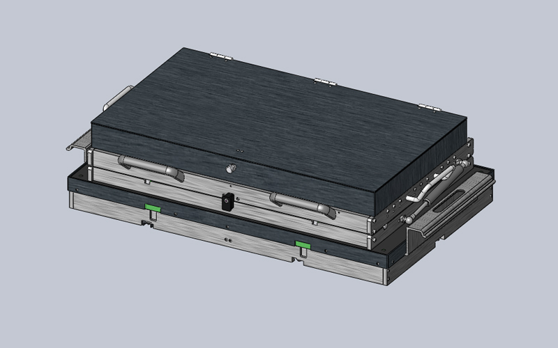 CAD -3D Model (Isometric View)